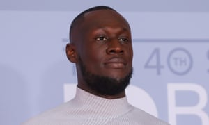 Stormzy at the 2020 Brit awards.