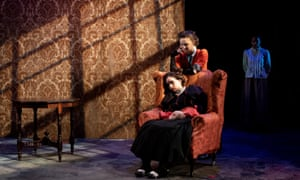 Owning the stage … Niamh Franklin and Sophie Mae Reynolds in Jekyll & Hyde.