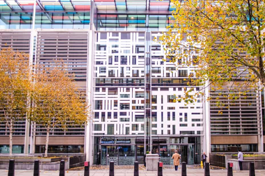 'It was a cold place' … the Home Office's Marsham Street headquarters in Westminster.