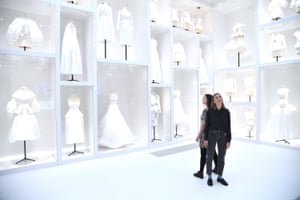 London, UK. Christian Dior: Designer of Dreams exhibition opens at the V&A