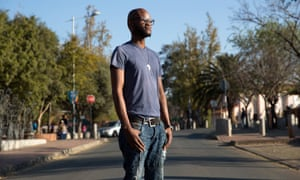 Zongezile Makhubo on Vilakazi Street, close to where his uncle was photographed during the uprising