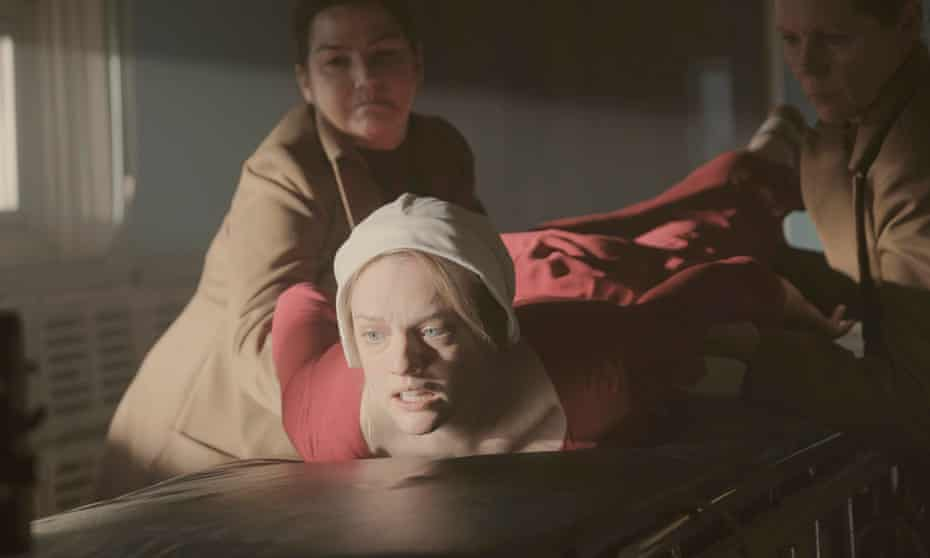 Fury, resignation and tenacity … Elisabeth Moss.