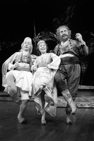 Andrews Sachs, Barbara Windsor and Bill Fraser