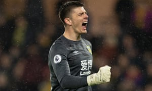 Nick Pope Burnley's win.