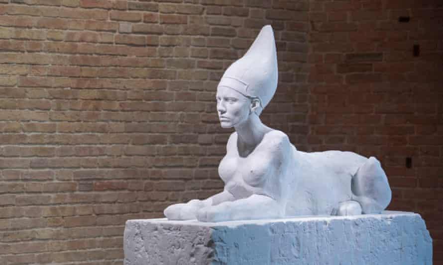 Sphinx by Damien Hirst.