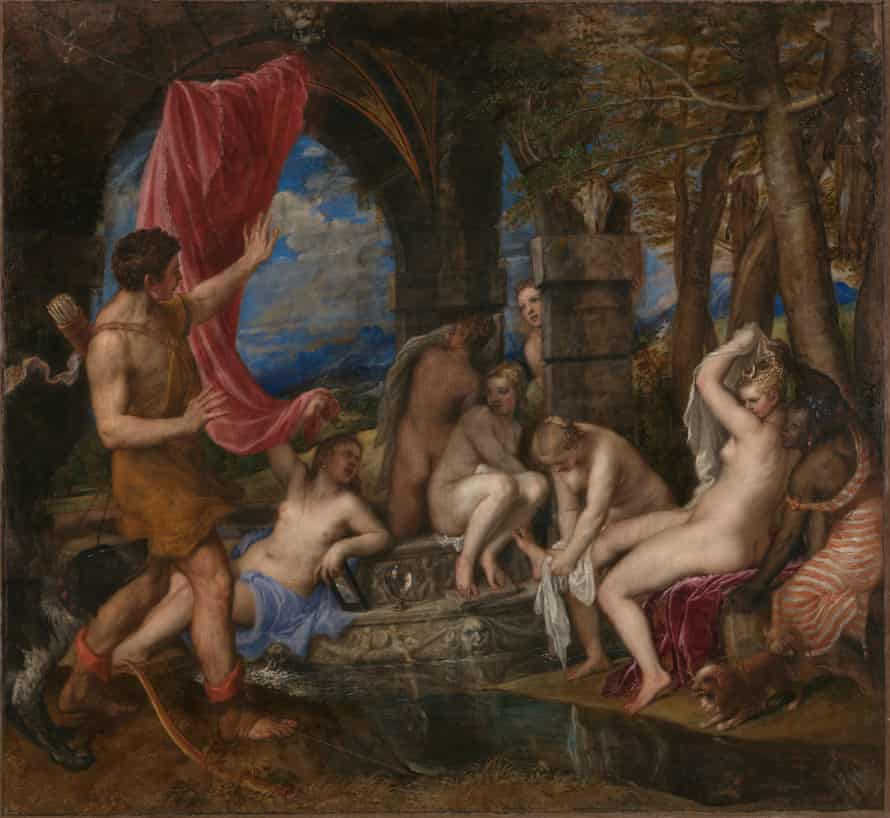 Titian's Diana and Actaeon (1556-9).
