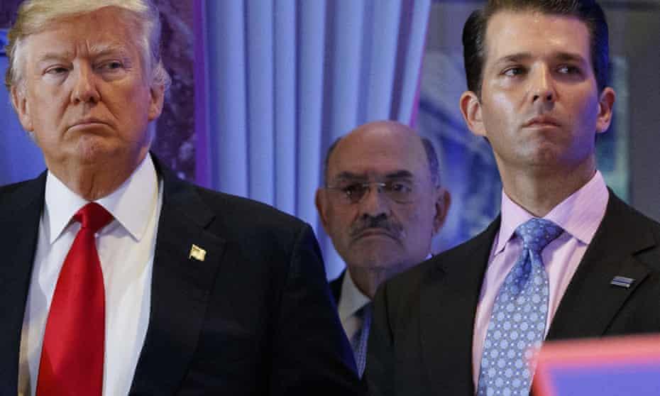 Trump Organization chief financial officer Allen Weisselberg.