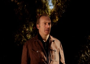 Mellow … Odenkirk at home in LA.