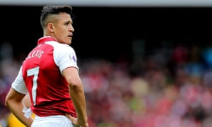 Alexis Sánchez is wanted by Manchester City and Manchester United having made clear his desire to leave Arsenal this month