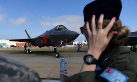 The budget blowout includes the F35 project