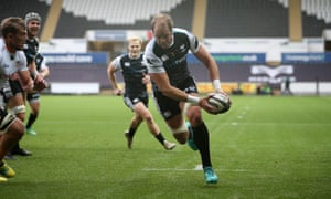 Alun Wyn Jones, the Ospreys player, may soon find himself turning out for a merged side with Scarlets.