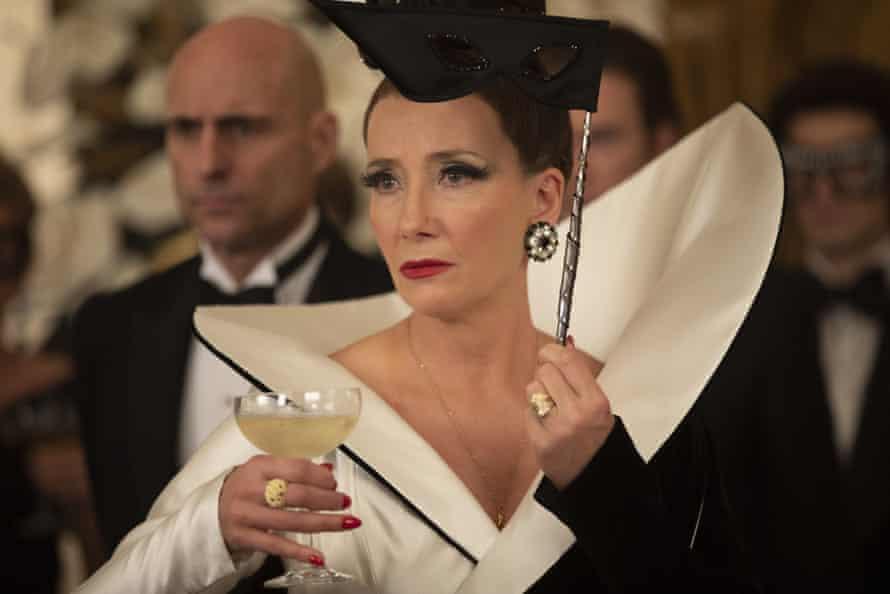 Emma Thompson in Cruella.