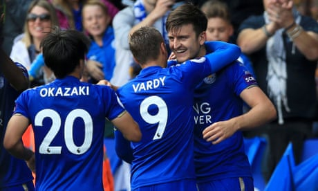 Leicester's Okazaki and Maguire give Brighton harsh lesson in top-flight life