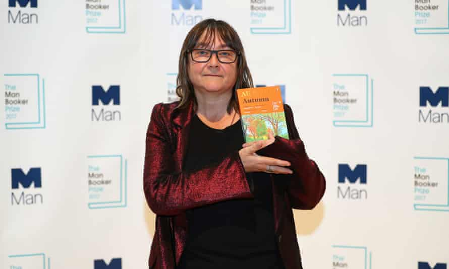 'Engaged in an extended process of mythologising the present state of Britain': Ali Smith at last month's Booker ceremony