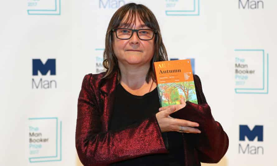 Ali Smith with her novel Autumn. But don't forget the Autumn by Karl Ove Knausgaard.
