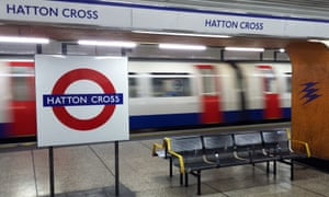 A train passing the platform at speed at Hatton Corner