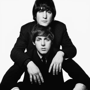 Britain's collective memory … John Lennon and Paul McCartney, 1965.