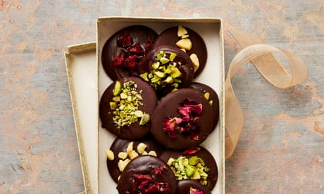 Meera Sodha's vegan recipe for spiced chocolate coins