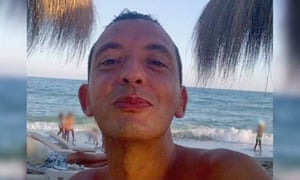 Ridouan Taghi, 41, was arrested at a house in the Gulf emirate on Monday.