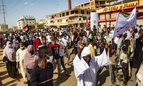 Protesters take to the streets demanding full civilian rule in Sudan