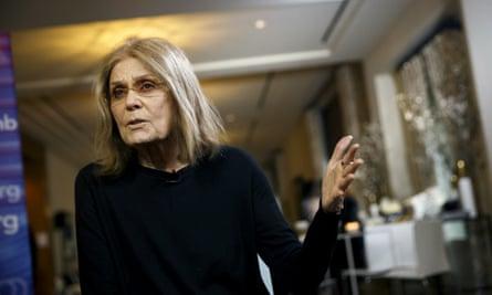 Gloria Steinem in Rancho Palos Verdes, California on 6 February 2017.