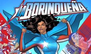 La Borinqueña: Puerto Rican superhero.