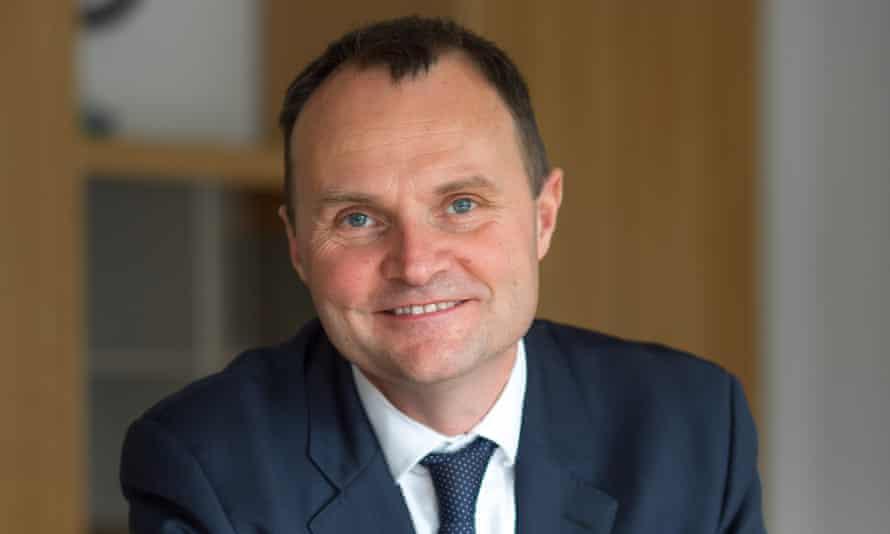 Adam Tickell, vice-chancellor, Sussex University
