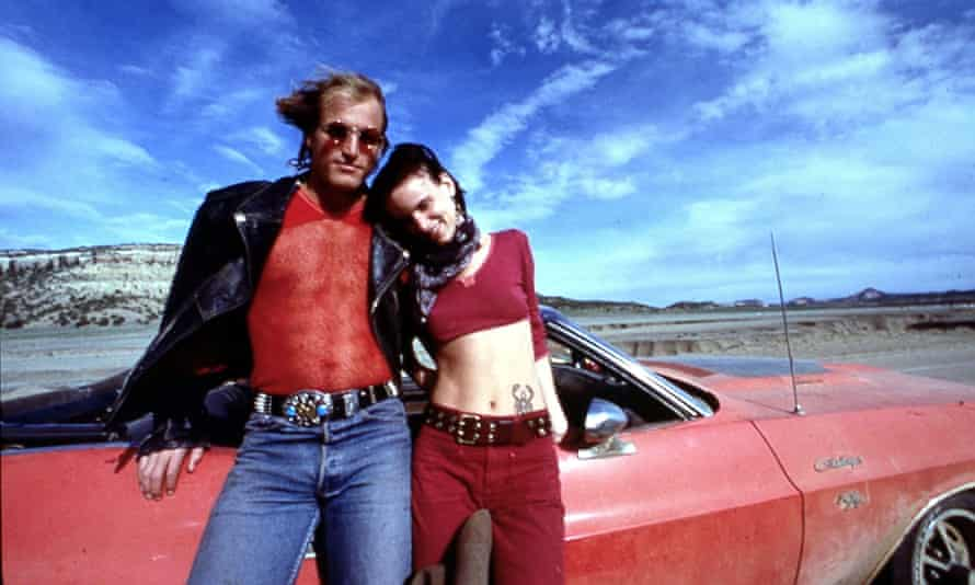 Woody Harrelson and Juliette Lewis in Natural Born Killers