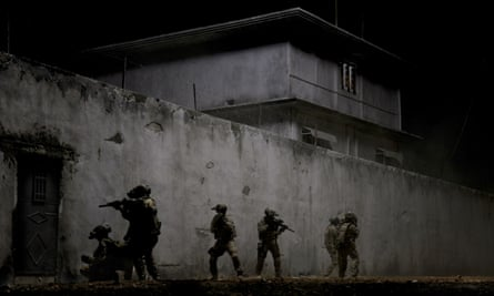 US special forces on the hunt for Osama bin Laden in the film Zero Dark Thirty