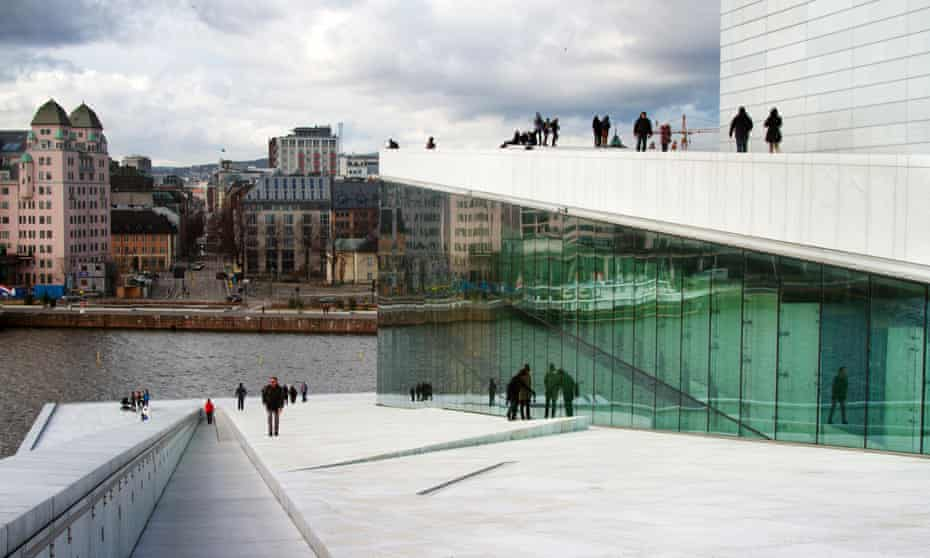 Social harmony … Oslo Opera House in Norway, one of the least unequal countries. Photograph: Sandro Luini/Alamy