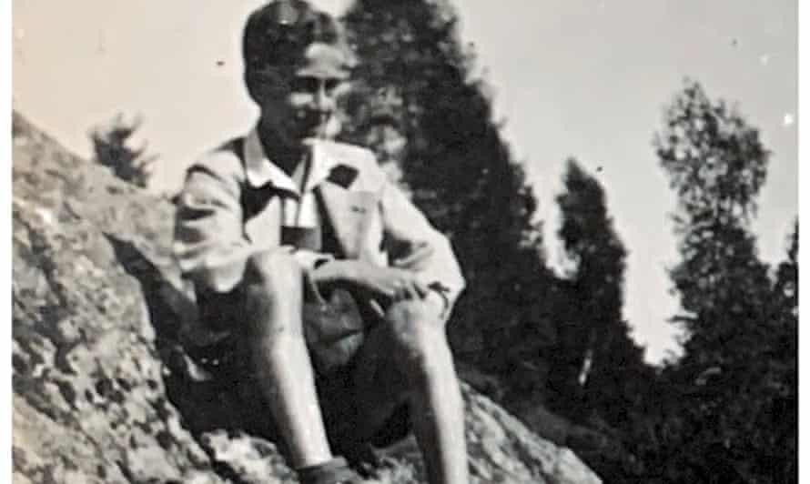 Ernst Schanzer as a boy