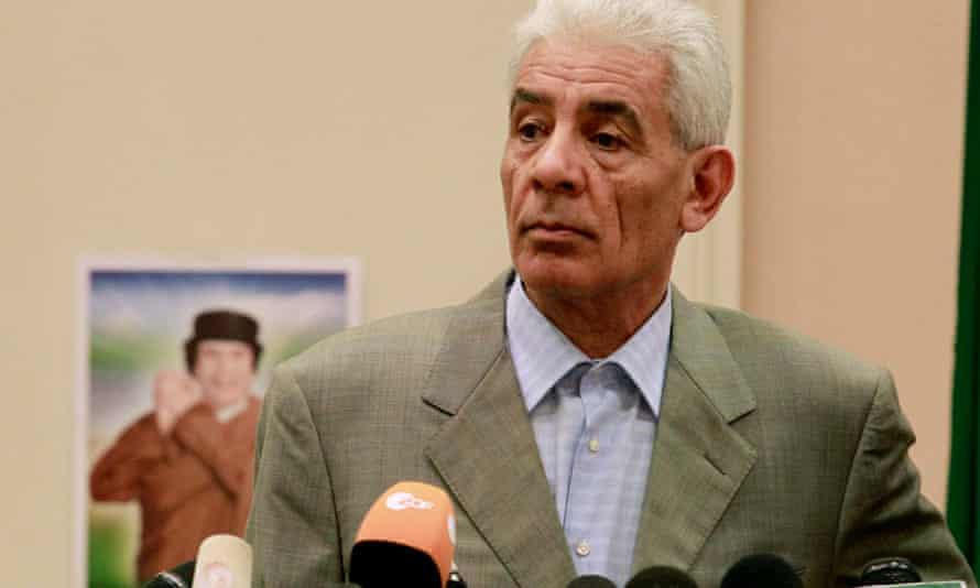 Libya's former foreign minister Moussa Koussa