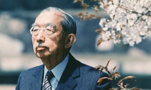 Emperor Hirohito of Japan, pictured in 1986, three years before he died.