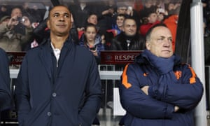 Dick Advocaat, right, and his assistant Ruud Gullit are the latest familiar faces who have failed to halt Holland's slide.
