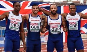 British men's 4x100m relay, European Athletics Championships, 2016
