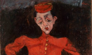 Energy stuffed into a servile suit: Chaïm Soutine's Bellboy at the Courtauld Gallery.