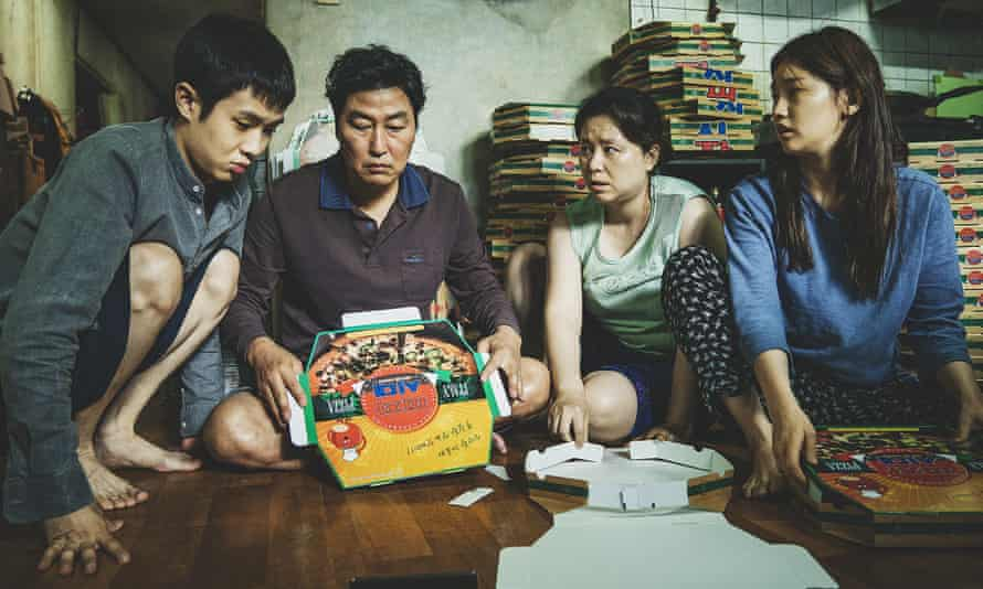 Nominated for best picture and best international film … Parasite.