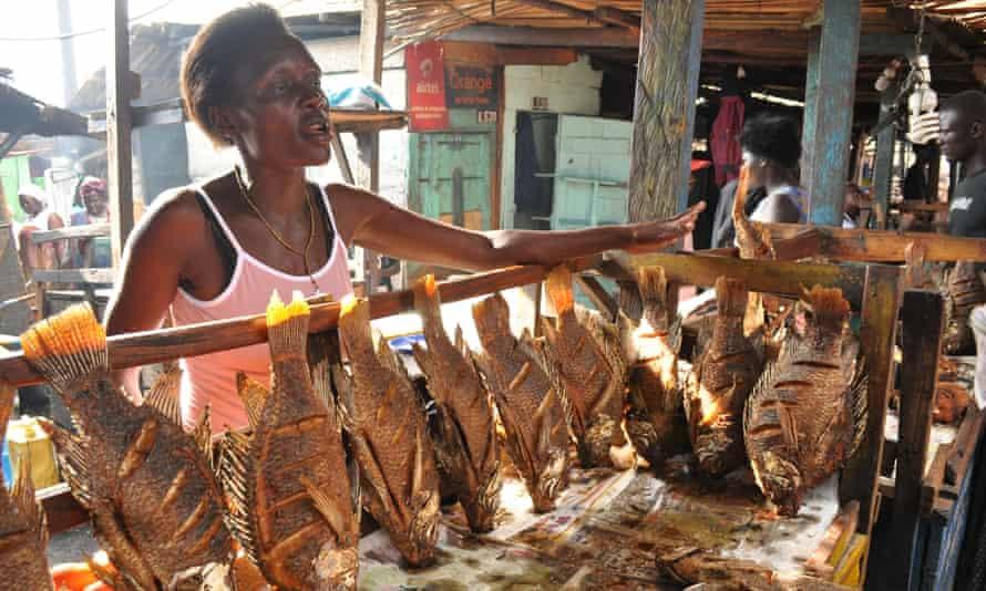 Ggaba Fish Market