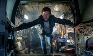 A scene from Spielberg's Ready Player One