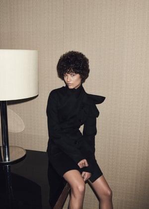 Minimal at Dior Cashmere coat, £4,300 (dior.com).