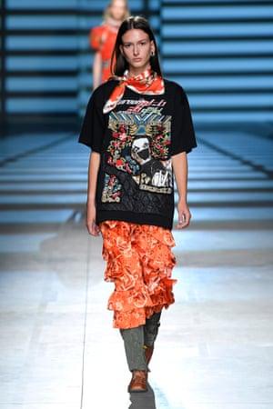 The Preen by Thornton Bregazzi show, SS20, London fashion week.