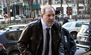 Harvey Weinstein arrives at New York criminal court for his sexual assault trial in Manhattan