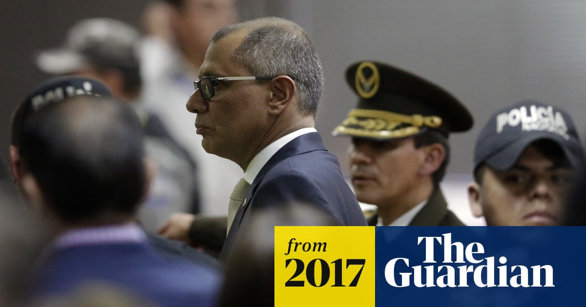 Odebrecht scandal: Ecuador vice-president given six years' jail