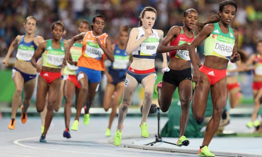 Great Britain's Laura Muir