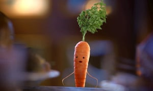 Kevin the Carrot … one of Chorley Guardian's news stories recently.