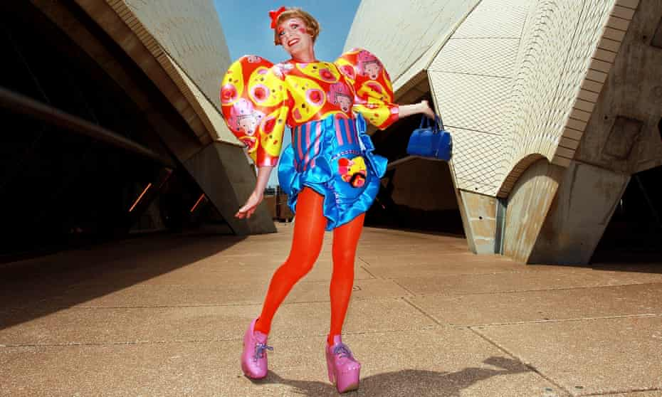 Colourful message: Grayson Perry.
