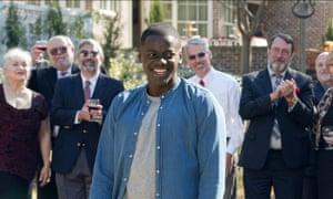 Daniel Kaluuya in Jordan Peele's 2017 movie Get Out.