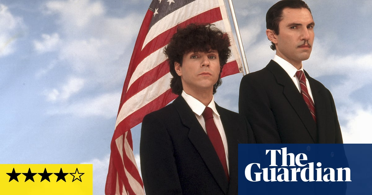 The Sparks Brothers review – Edgar Wright's giddy tribute to the Gilbert and George of pop