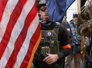 Militia member