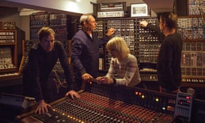 Craft work … Jane Horrocks and Stephen Mallinder (second from left)